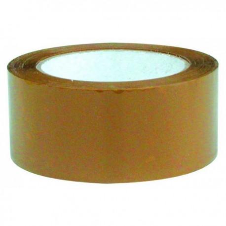 Ruban adhésif d'emballage marron