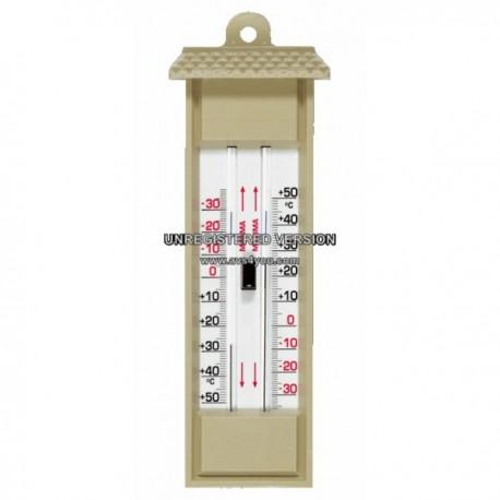 Thermomètre mini/maxi plastique