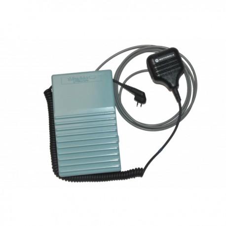 Micro déporté + pédale pour grutier pour Handie Pro Motorola