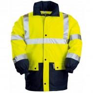 Veste haute visibilité fluo imperméable Coverguard
