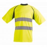 Tee shirt haute visibilité fluo