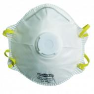 Masque respiratoire FFP1 à valve, boîte de 10 pièces