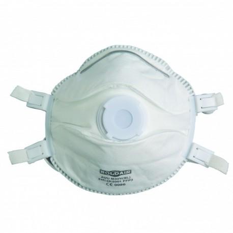 Masque respiratoire FFP3 coque, boîte de 5 pièces