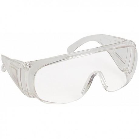 Sur-lunettes de protection traitées anti-rayures