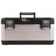 Boîte à outils bimatière galvanisée Stanley Fatmax
