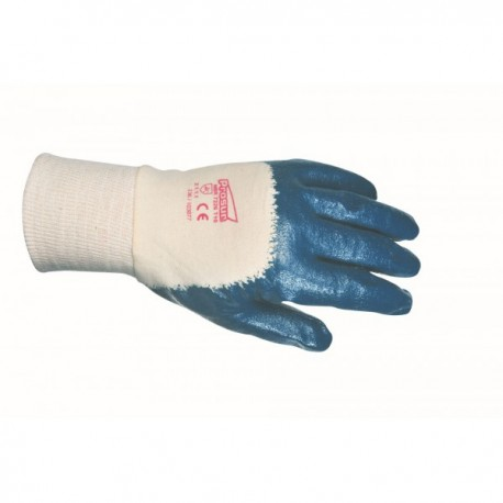 Gants enduits nitrile simple enduction
