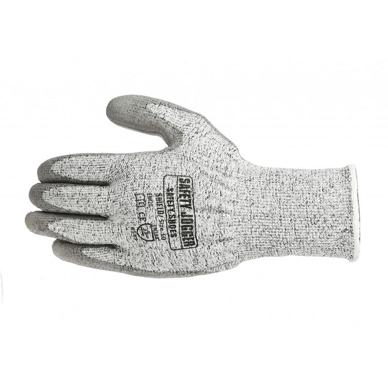 gants anti coupure niveau 5 support composite gris. Black Bedroom Furniture Sets. Home Design Ideas