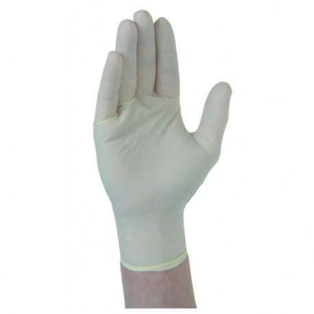 Lot de 100 gants latex jetables